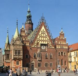 Polsko - Radnice ve Vratislavi