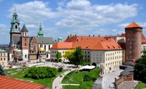 Polsko - Hrad Wawel v Krakově